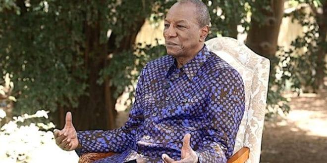 «Si fier de vous servir pour que brille notre Guinée» dixit Alpha Condé