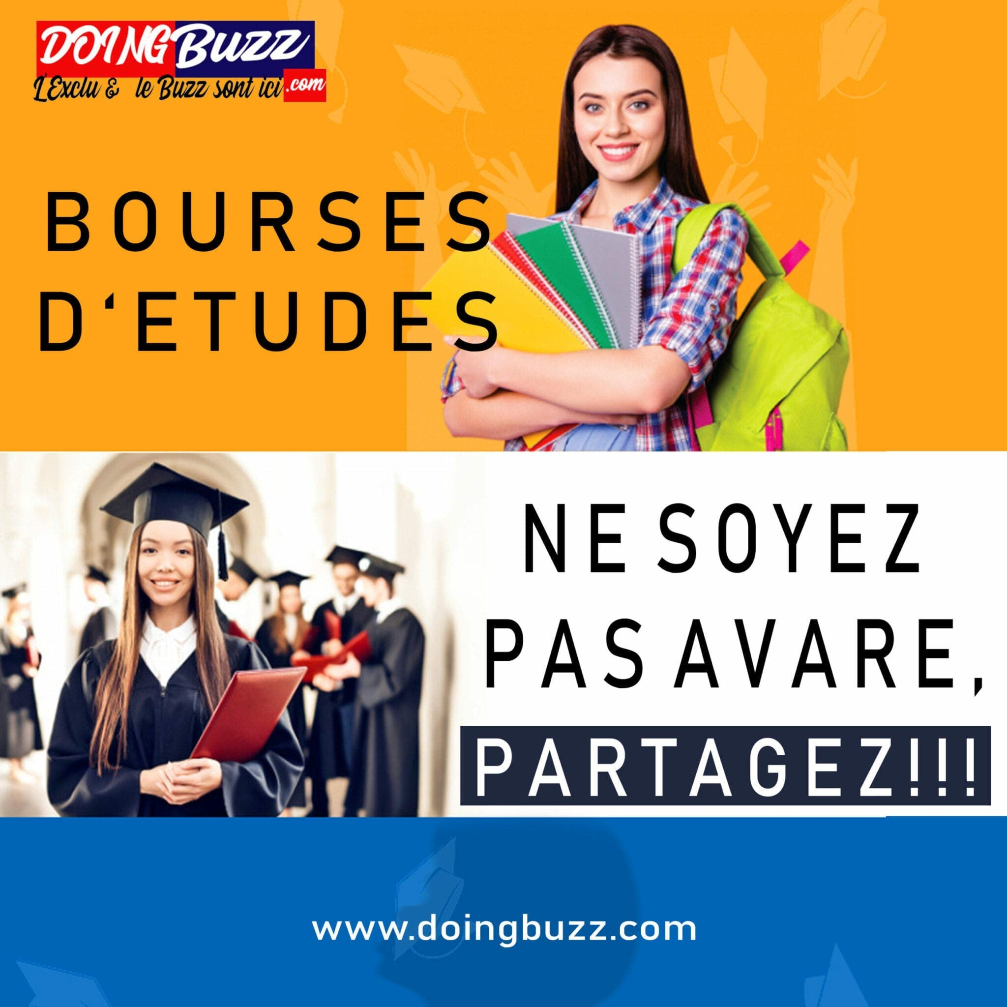 Bourse internationale Education Future 2021