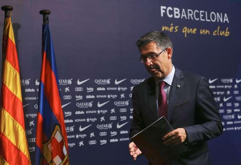 Barça: Le conseil d'administration a demandé à Bartomeu de démissionner