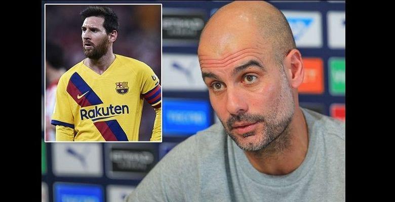 Barcelone : vers un départ de Messi pour Manchester City ? Pep Guardiola réagit !