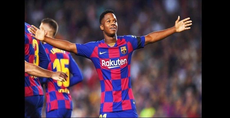 Barcelone : Ansu Fati inscrit un nouveau record en Liga VIDEO