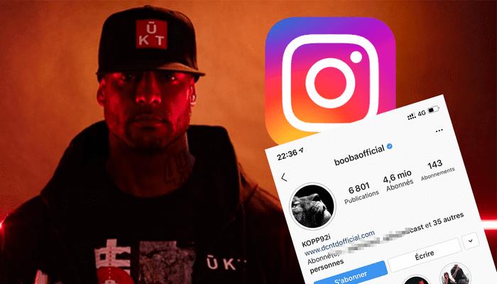 Booba: voici pourquoi son compte instagram a été supprimé