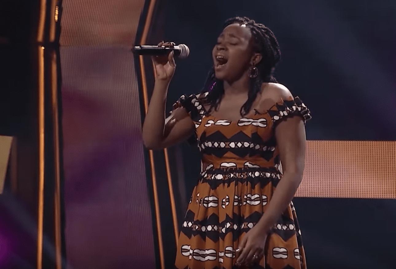 Késsi ,la Togolaise séduit à The Voice Afrique Francophone sur «Africa» de Ismaël Lô