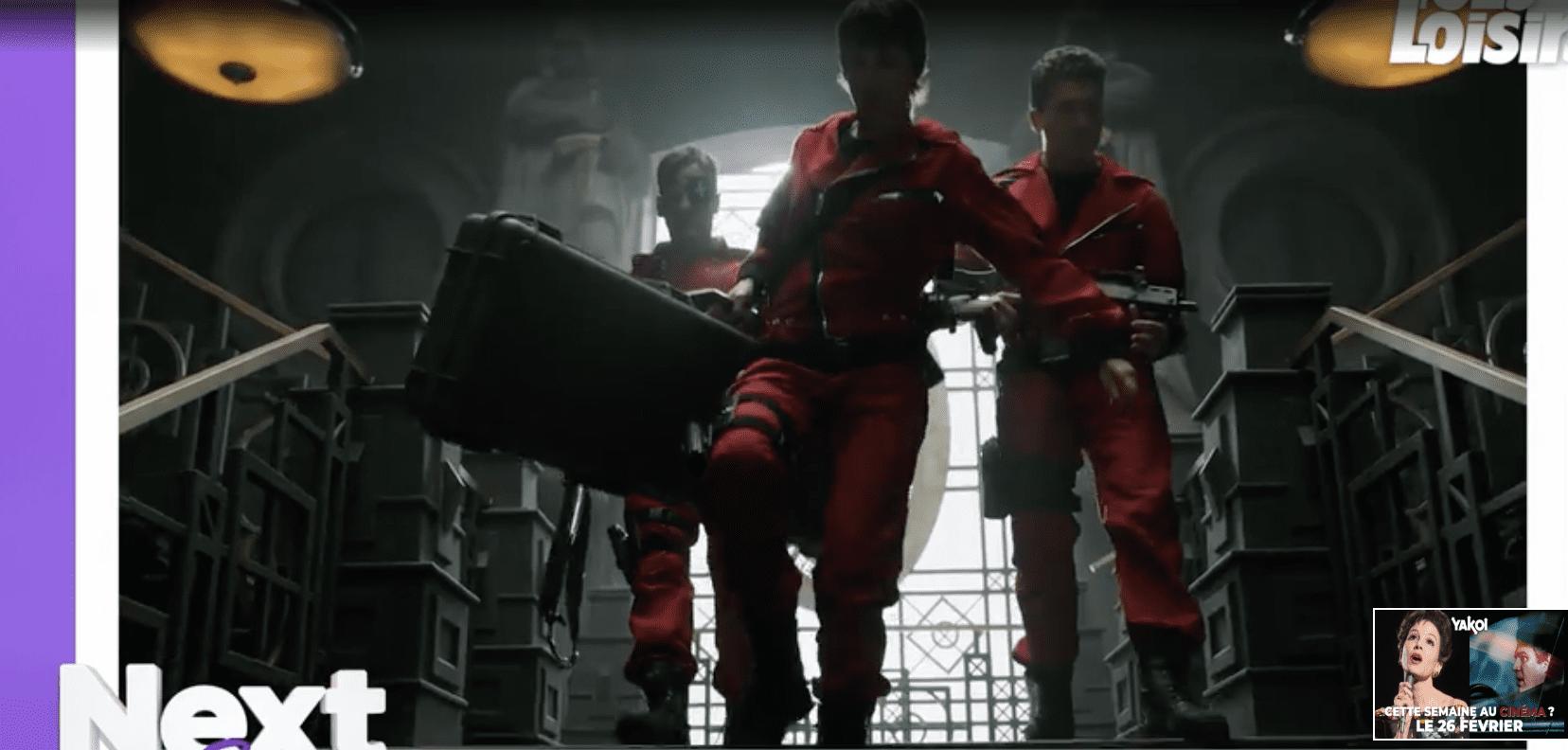 La Casa de Papel (Netflix) saison 4 donne les nouvelles