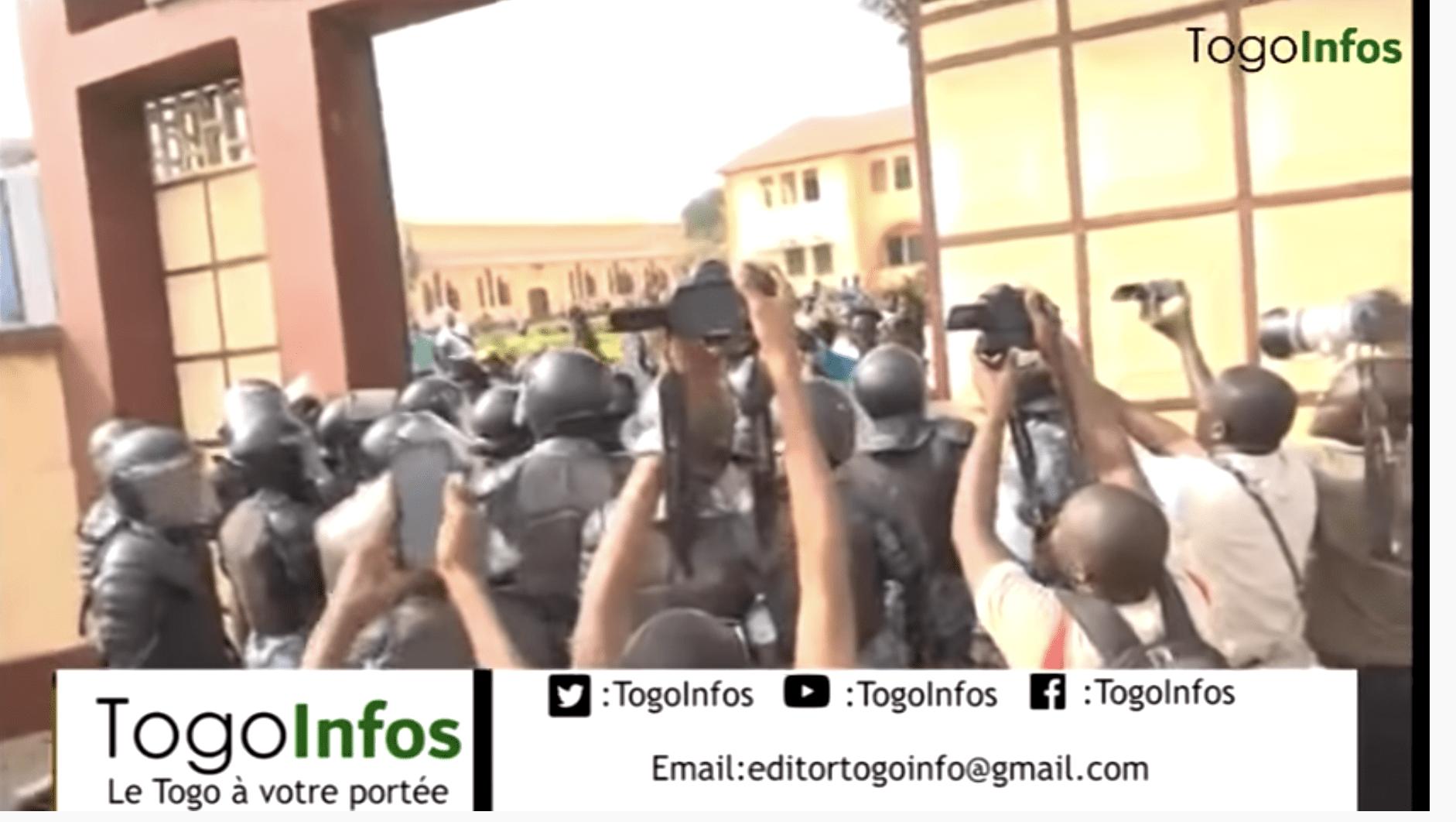 Togo: les temps forts de la manifestation de Mgr Philippe Kpodzro