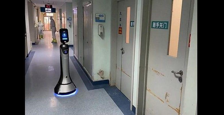 Chine : des robots utilisés pour lutter contre le coronavirus (vidéo)