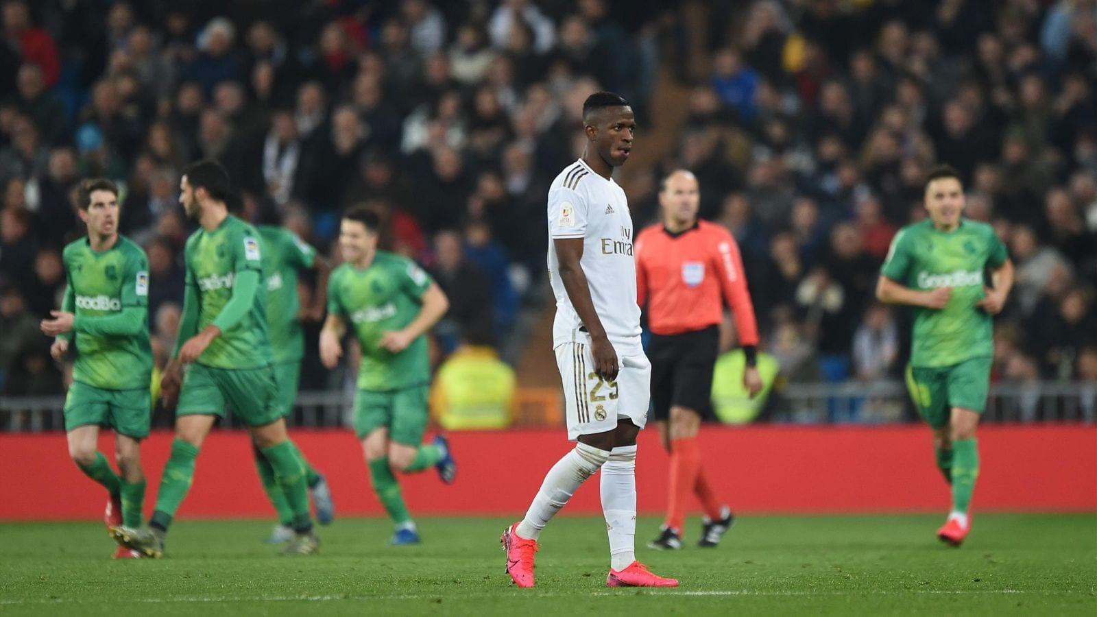 Coupe du Roi: La Real Sociedad élimine le Real Madrid au Bernabeu