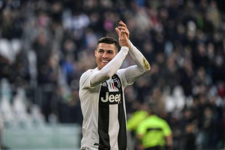 Cristiano Ronaldo est élu meilleur joueur du mois de janvier en serie A
