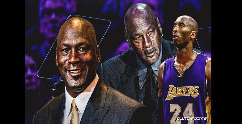 Dernier hommage à Kobe Bryant: Michael Jordan fond en larmes (vidéo)