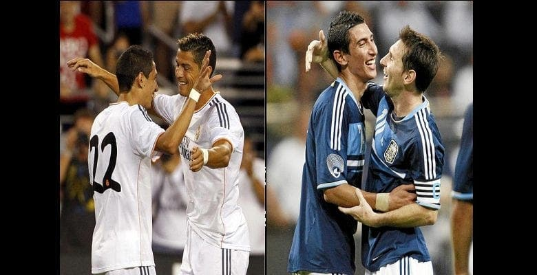 Di Maria : « J'ai joué avec Messi, Ronaldo, Ibrahimovic et Rooney. Leo est le meilleur »