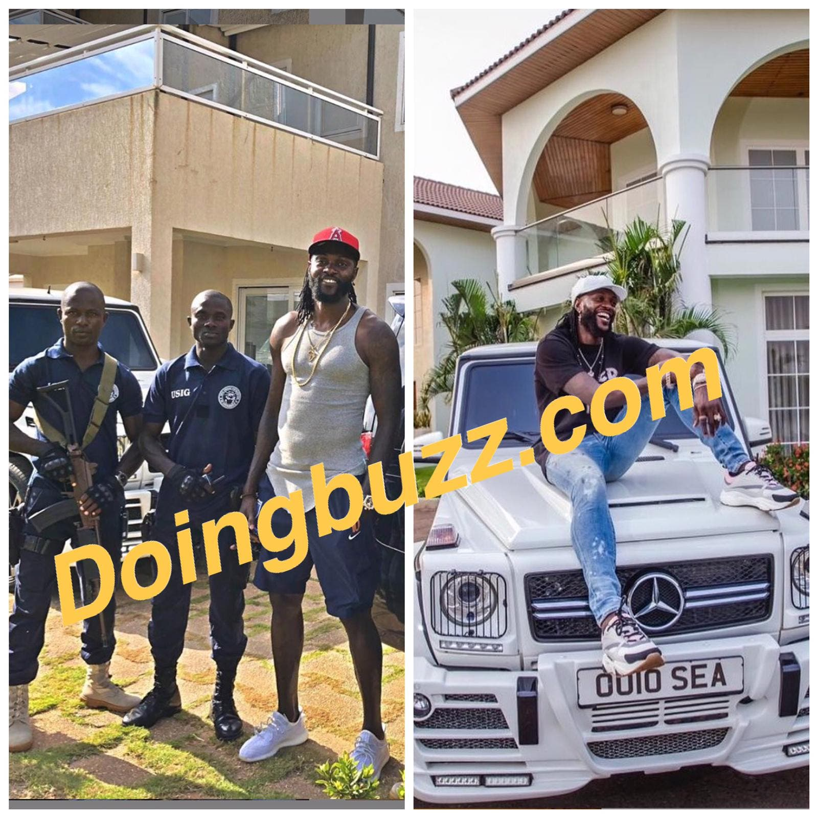 Emmanuel Adebayor n'a pas encore fini de dépenser sa fortune amassée à Arsenal