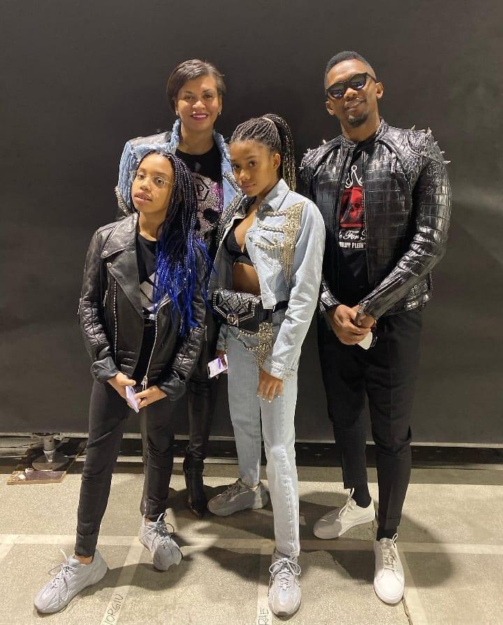 Samuel Eto'o et sa famille cassent internet avec des photos mignonnes