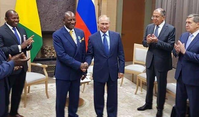 Alpha Conde révèle le contenu de sa dernière conversation avec Poutine