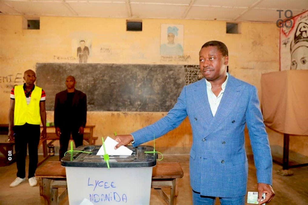 Faure Gnassingbé confiant pour la suite du processus