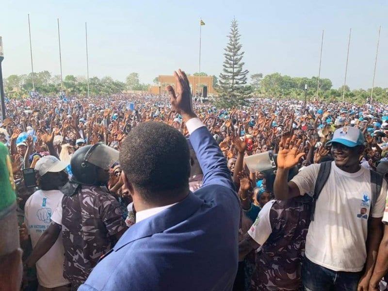 Togo : le palais présidentiel pris d'assaut par des milliers de personnes