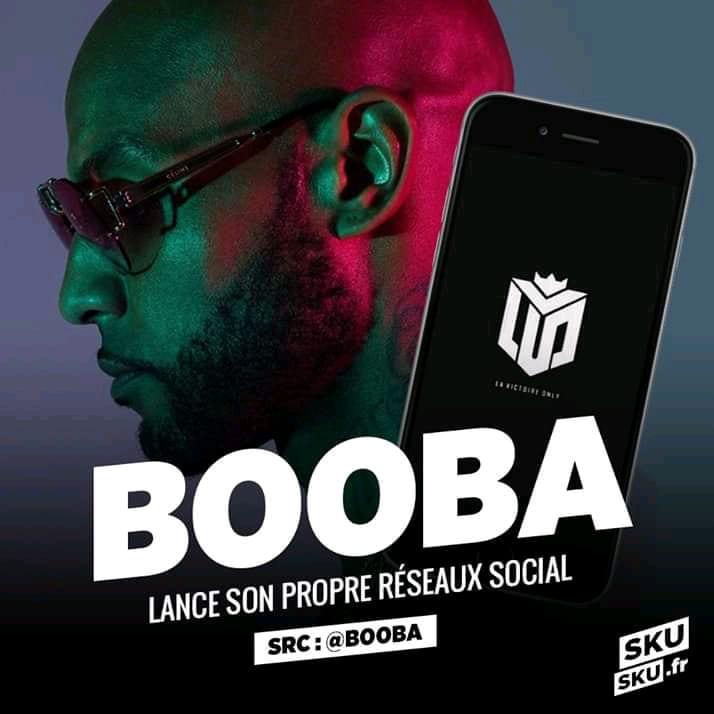 Le rappeur Booba lance son propre réseau social