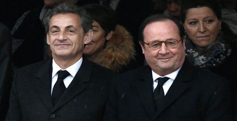 """""""J'ai rencontré l'amour de ma vie, il est vraiment normal"""": Quand Nicolas Sarkozy se moque de François Hollande"""
