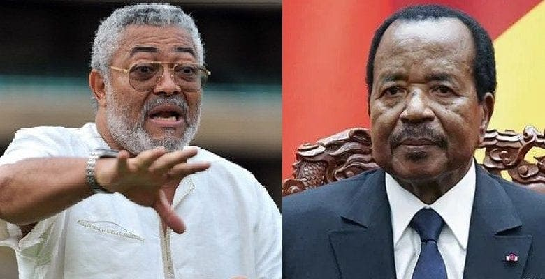 Jerry Rawlings furieux contre Paul Biya, demande une intervention militaire au Cameroun