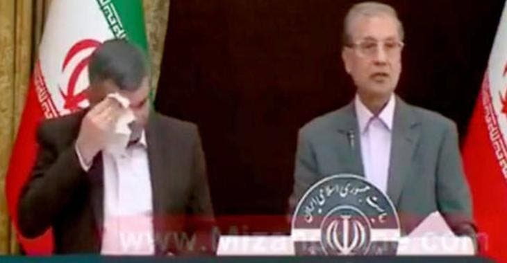 Le vice-ministre de la Santé iranien, Iraj Harirchi, testé positif au coronavirus