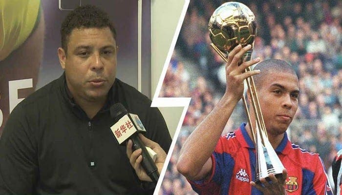 Liga: 20 ans après, Ronaldo révèle les dessous de son départ du FC Barcelone