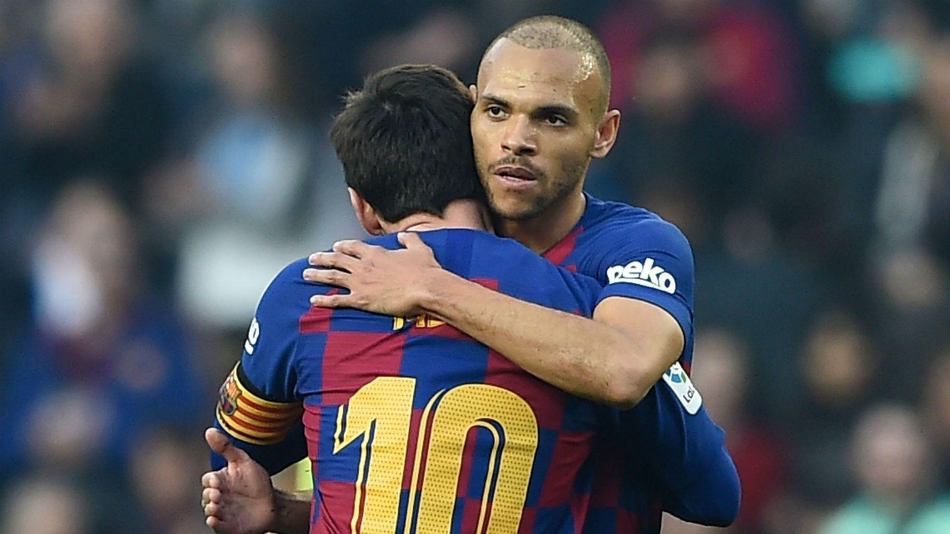Barça : « Si le football était une religion, Messi serait un Dieu », Martin Braithwaite