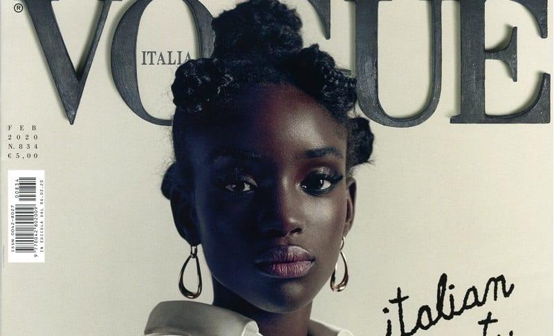 Mode : À 18 ans, la sénégalaise Maty Fall fait la couverture de Vogue Italia
