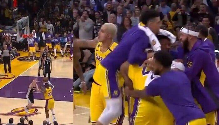 NBA – L'incroyable coup de chaud de LeBron James !