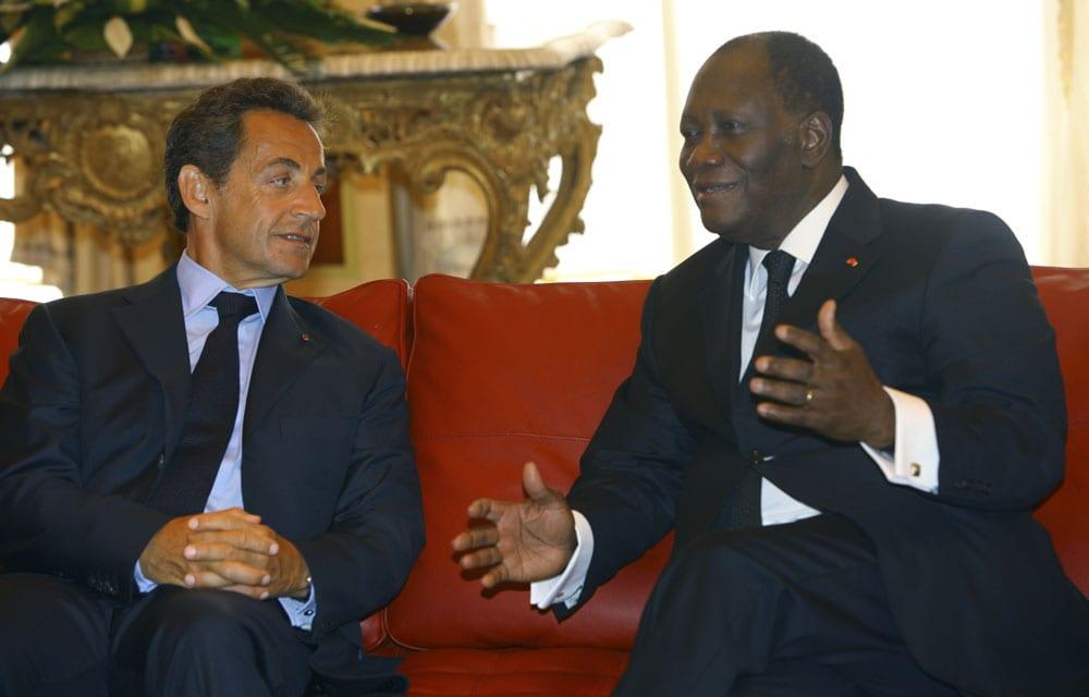 Nicolas Sarkozy, pas enthousiaste à l'idée d'accorder une audience à Guillaume Soro