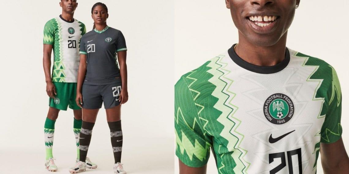 Nike dévoile les magnifiques nouveaux maillots du Nigeria pour 2020