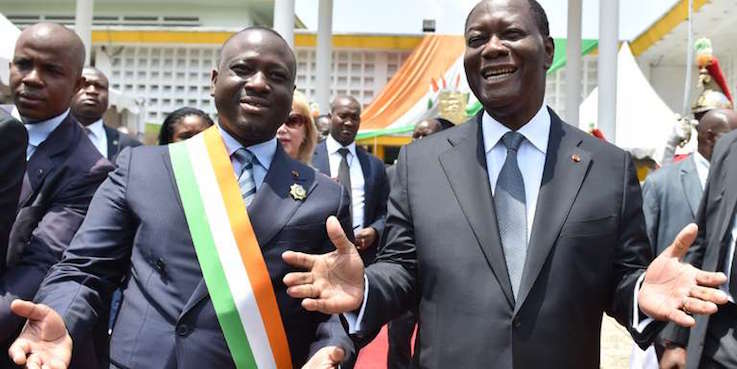 Côte d'Ivoire : à 9 mois de la présidentielle, Ouattara compte toujours sur Bédié et Soro