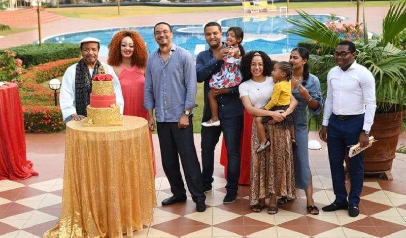 Le président Paul Biya fête son 87e anniversaire en famille (Photos)