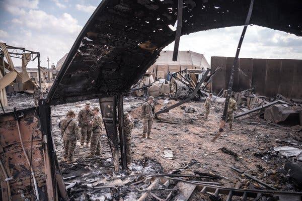 Plus de 100 soldats américains ont été diagnostiqué de traumatisme crânien suite à une frappe en Iran