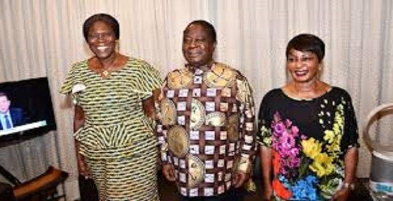 Politique: Simone Gbagbo en tête à tête avec le couple Bédié