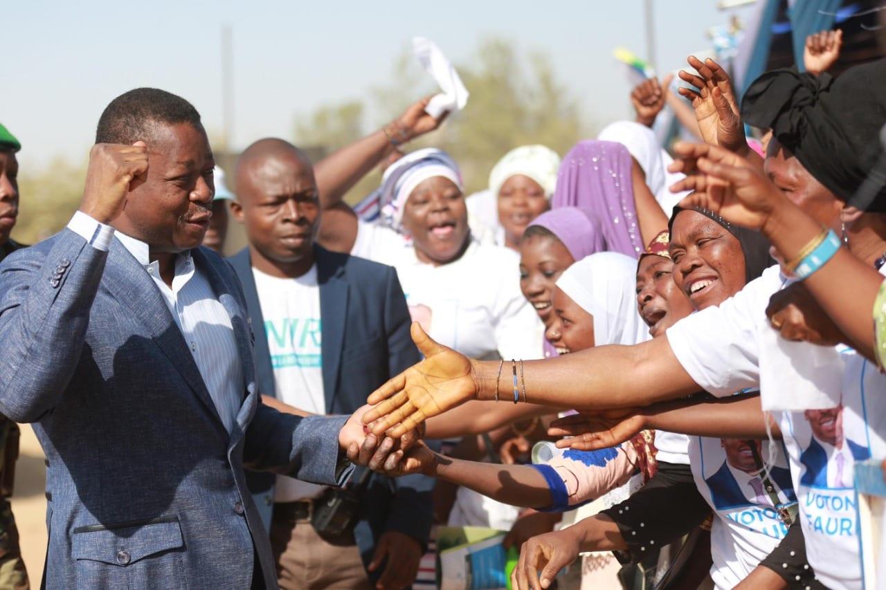 Présidentielle 2020 : Faure Gnassingbé à la rencontre des populations de Cinkassé et Gando
