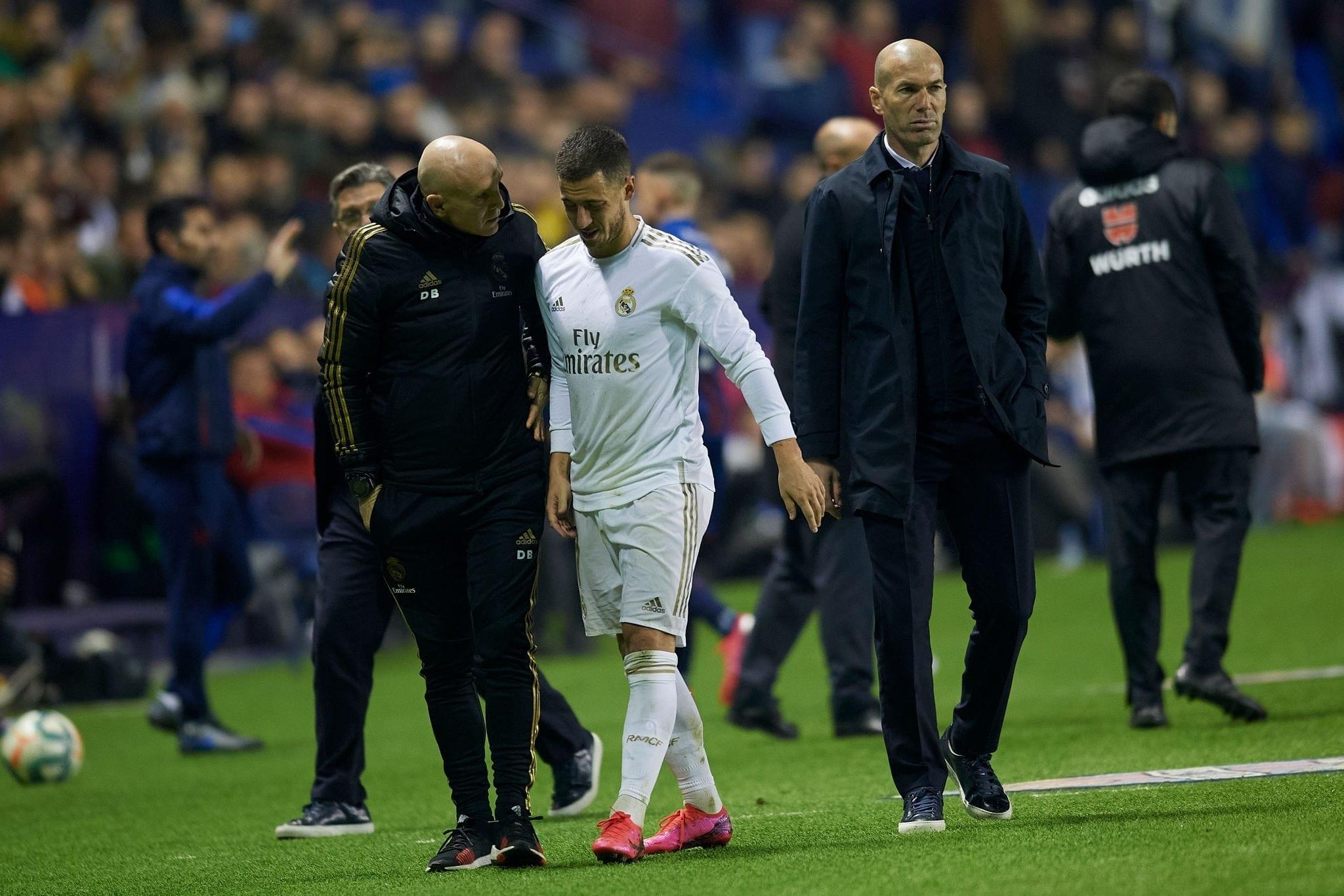 Real Madrid : fissure au péroné pour Eden Hazard