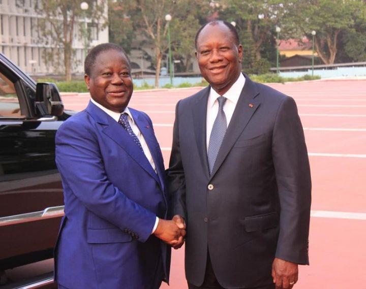 Les internautes tournent en dérision la rencontre Bédié-Ouattara
