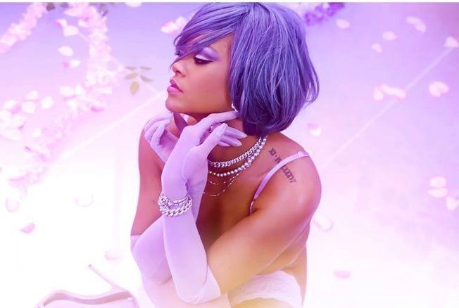 Rihanna dévoile sa nouvelle coupe au carré, en lingerie sexy