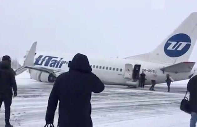 Russie : Un Boeing frôle le pire en atterrissant sur le ventre dans le nord du pays