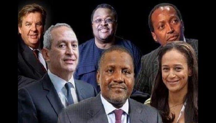 Top 20 des Africains les plus riches en 2020 : Aliko Dangote en tête pour la neuvième fois consécutive