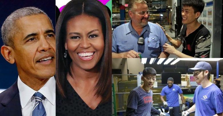 Un film produit par Barack et Michelle Obama remporte un prix aux Oscars