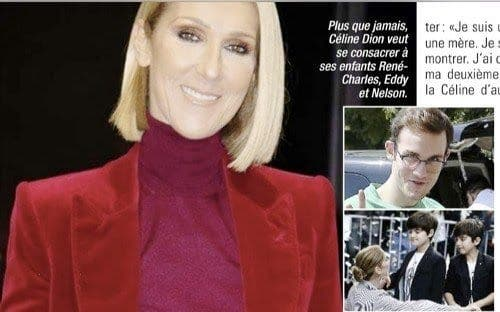 Céline Dion est intriguée par son fils, René-Charles
