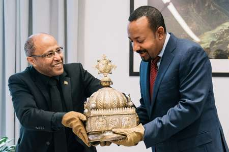 Ethiopie : Restitution d'une couronne cachée pendant 21 ans au Pays- Bas