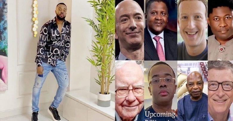«Les vrais milliardaires ne gardent pas la barbe», dixit un acteur nigérian