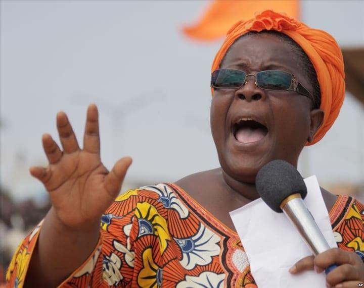 Togo: Isabelle Ameganvi croit fermement à la victoire de Jean Pierre Fabre