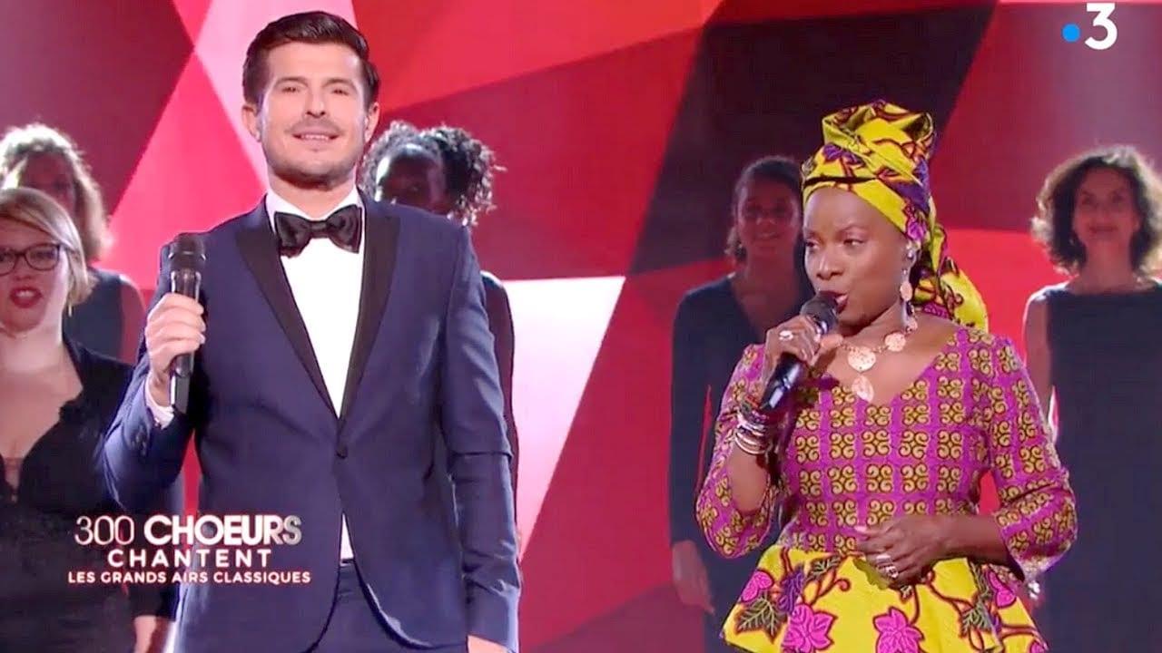 Angélique Kidjo et Vincent Niclo  chante en Mina une langue Togolaise (Video)