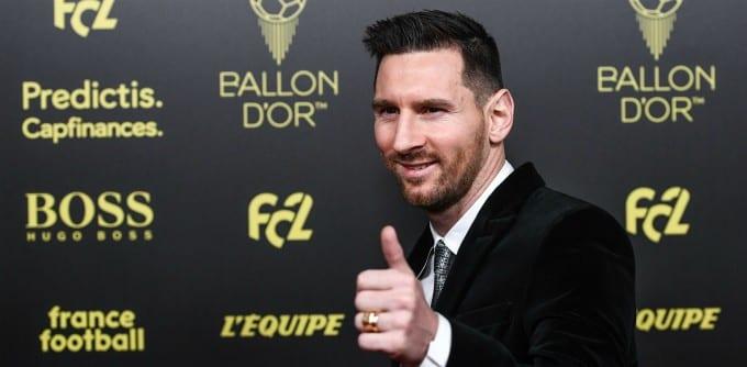 Lionel Messi devient le premier footballeur à remporter le prix «Laurens»