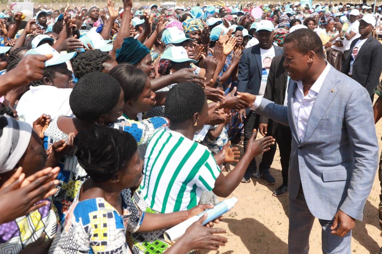 Election présidentielle du TOGO 2020: Faure Gnassingbé lance officiellement sa campagne