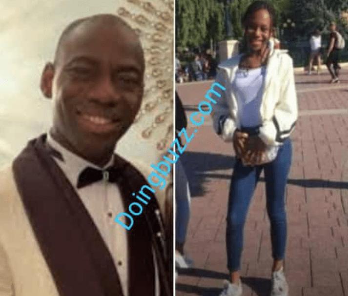 La fille de Makosso pique une crise après le décès de sa femme