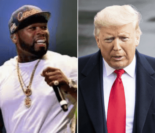 Affaire coronavirus : 50 cent clashe sèchement Donald Trump