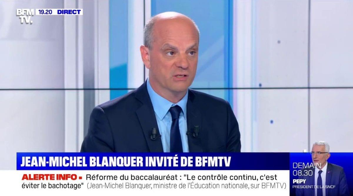 50% des français pourraient être contaminés pas le coronavirus d'après le ministre de l'éducation nationale